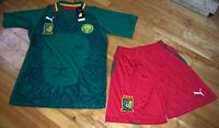 Jersey soccer (Chandail) avec Short CAMEROUN 2013