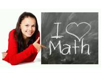 From £10.50ph GCSE Mathematics private tuition classes, qualified experienced teacher