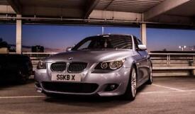 BMW 530D MSPORT..AUTO..SILVERSTONE BLUE..SATNAV..SPIDER ALLOYS..BIG SPEC..