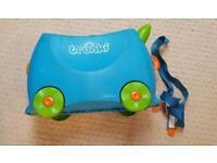 Trunki, the famous popular and practical Child Cabin Suitcase - Blue