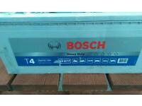 Lorry / Tractor / Digger / Dumper / Combine / Boat Bosch Heavy duty battery