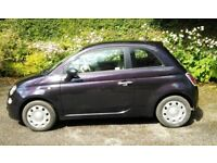 2013 Fiat 500 1.2 petrol 'Chill Out Purple'