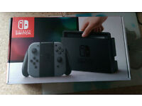 NINTENDO SWITCH CONSOLE BRAND NEW UNUSED AVAILABLE FOR IMMEDIATE PICK UP (OUT OF STOCK)