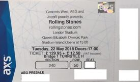 Rolling Stones Tickets | LONDON | 22nd May | £129 EACH