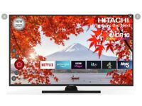 *MAY DELIVER BEAUTIFUL 4K UHD SMART 50 Inch HITACHI TV Wi-FI FREEVIEW FREEPLAY TELEVISION