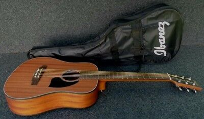 Ibanez PF2MH-OPN 3/4 SIZE MINI DREADNOUGHT PACKAGE & GIG BAG Open Pore Finish