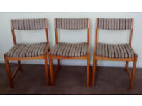 3 Dining Room Chairs
