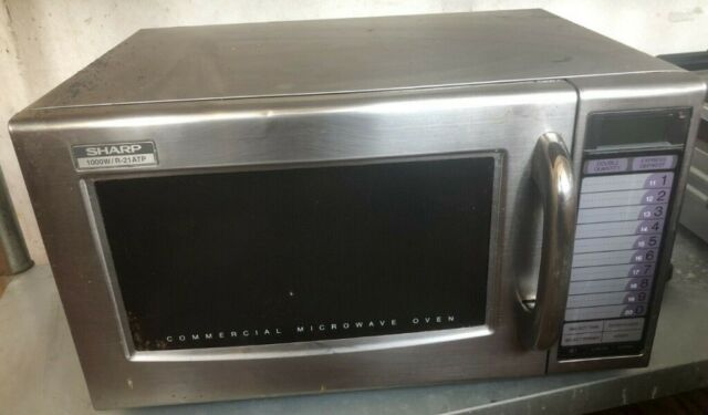 Sharp R-21ATP Commercial Microwave Oven | in Brighton, East Sussex | Gumtree