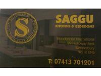 Saggu kitchens & bedrooms (suppl & fit )