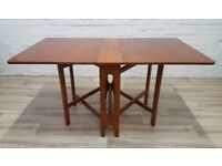 Mid Century Gate Leg Dining Table (DELIVERY AVAILABLE FOR THIS ITEM OF FURNITURE)