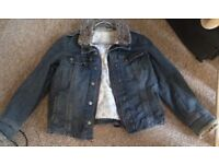 Jacket ( Denim but lined) by Principles