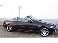 BMW 325ci MSport body kit, Convertibe, Blue(black soft top) Great Condition