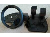 Thrustmaster t80 steering wheel for ps3/ps4