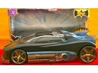Batman Batmobile Superhero Action Vehicle by Mattel, Boxed