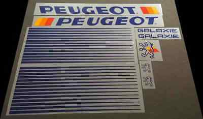 1 Pair sku Peug403 Peugeot Bicycle Fork Decals