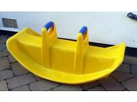 Little Tikes Seesaw - yellow
