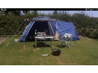 Four man tent, never been usd so perfect condition.