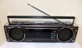 Panasonic RX-F4L Vintage Boombox,Cassette Player