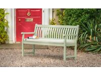 RHS Rosemoor 5ft/150cm Bench, Acacia / Brand New / Flat packed