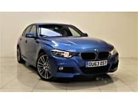 BMW 3 SERIES 2.0 320D XDRIVE M SPORT 4d 181 BHP + SAT NAV + AIR (blue) 2013