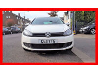 2011 Volkswagen Golf 1.2 TSI S 5dr -- bright white -- Low Miles -- HPI Clear -- Alternate4 Audi BMW