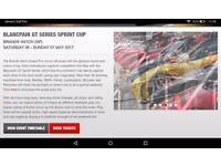 Brands hatch blanc pain gt series sprint cup tickets