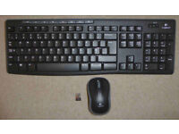 Logitech K270 Cordless Keyboard and Mouse