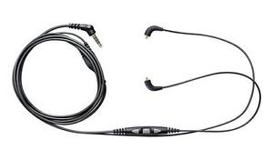 Shure CBL+-K-EFS Music Phone Cable with Remote for SE215, SE315, SE425, SE535 Headphones / Headset. NEW