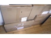Ikea kitchen cabinets and shelves, white, unopened in packaging