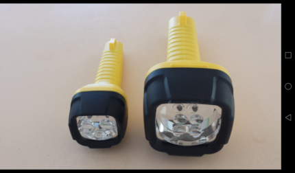1 Dolphin Micro + 1 Dolphin Mini torches (in great condition!)