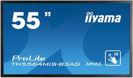 """Iiyama 55"""" inch 1080p Touch Screen - TH5564MIS-B3AG"""