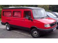 camper van LDV nice van inside color coded to outside