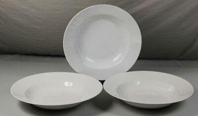 6er Set Ovale Porzellanschale  Essteller Menüteller ca 30cm weiß Porzellan Neu