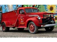 1941 GMC Fire Truck water tank pumper Firetruck AS IS Project Almost Antique age
