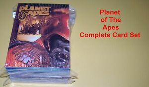 Planet of the Apes    Complete base card set     90 cards