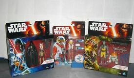 Star Wars NEW X-Wing Pilot - Garazeb Orrelios, C1-10P - Darth Vader, Ahsoka Tano. Xmas Joblot