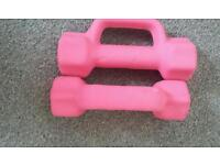 Pair of 2kg dumbbells