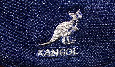 Mens Classic  Summer  Kangol  Tropic  504  Ivy  Cap  Color  Navy Blue