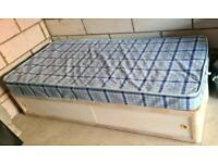 *FREE* single divan bed with mattress *FREE*