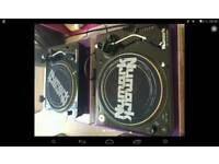 Numark tt100 turntables