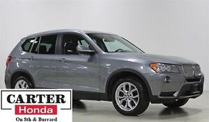 2014 BMW X3 xDrive28i + NAVI + PANOROOF + LOCAL + NO ACCIDENTS