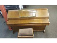 Eavestaff Mini Royal Piano Overstrung & Underdamped - FREE STOOL