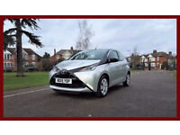 2015 Toyota Aygo 1.0 VVT-i X-Play 5dr --- Hpi Cleared -- Reverse camera -- Sat Nav --- Low 750 Miles