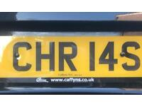 Private number plate (CHR 14S)