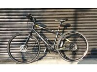 Ridgeback sport bike with disc brakes gents ladies hybrid not specialized trek carrera giant