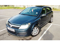 VAUXHALL ASTRA LIFE 1.4 Petrol 06 87.500 miles on clock .Swap for a Bigger car estate or 7 seater