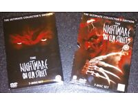 The Nightmare on Elm Street DVDs, 7-Disc Set, The Ultimate Collector's Edition