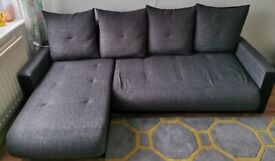 Corner Sofa Bed with Storage - Right or Left Hand