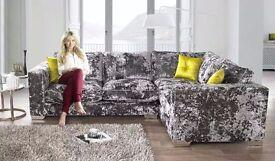 Brand New Corner Sofa / Still wrapped / Festival Pewter Desire (Sofaworks/Sofology)