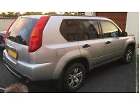 Nissan X-Trail Trek 4 x 4 SUV - 2008 - Metallic Silver - 2.0 DCi - Great Condition